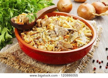 Stewed Cabbage With Meat