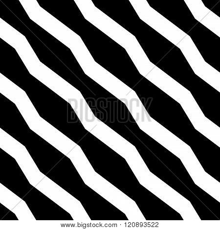 Abstract Geometric Monochrome, Minimal Artistic Pattern. Seamlessly Repeatable.