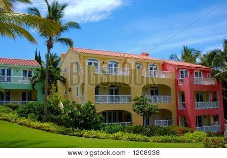 Colors Of Tropical Architecture