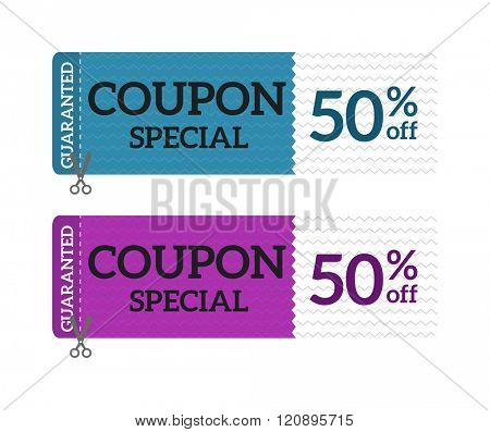 Gift Voucher Coupon Vector illustration. Gift Voucher Coupon template. Gift voucher template with clean and modern pattern.Gift Voucher Coupon design. Gift coupon certificate template