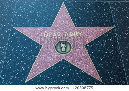 Dear Abby Hollywood Star