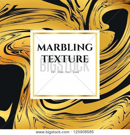 Marble Pattern  Gold