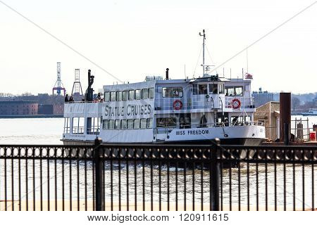 Statue Of Liberty Ferry Boat