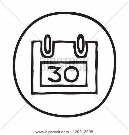 Doodle Calendar icon
