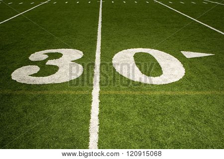 Thirty yard line