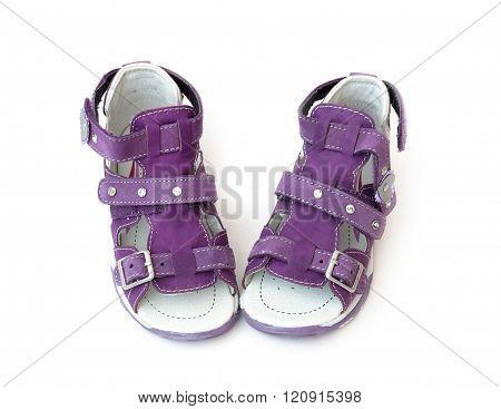 Purple Children's Sandals