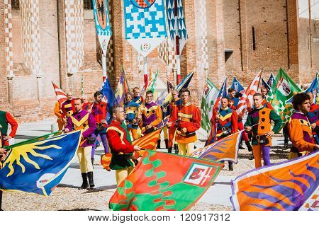 Flag-wavers  Medieval
