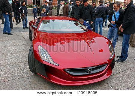 Rimac Supercar Concept One
