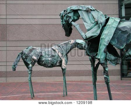 Metal Horses, Boston, Ma