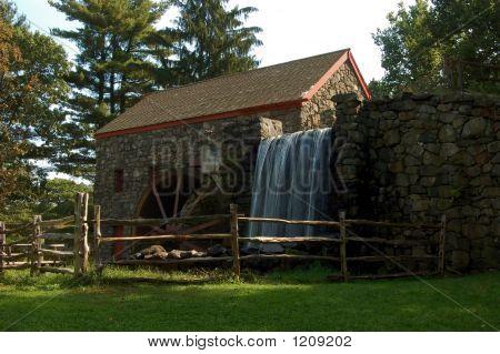 Mill At The Wayside Inn, Sudbury, Massachusetts