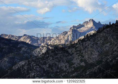 Rugged Mountain Scenic Landscape
