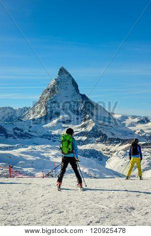 Gornergrat Skiers