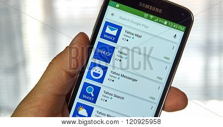 Yahoo Mobile Applications.