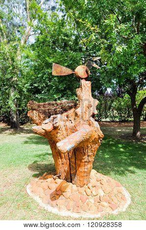 Bird Nest Sculpture