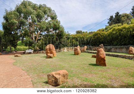 Limestone Formations in Gardens