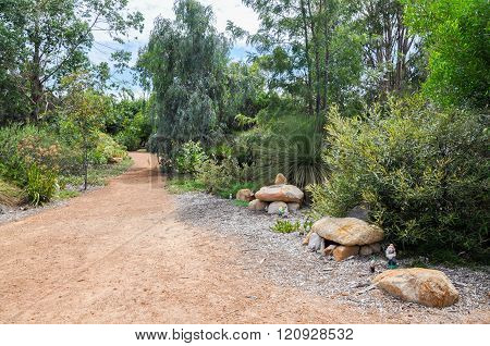 Path at Amaze'n Margaret River