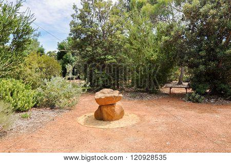 Centre Piece in Botanical Garden