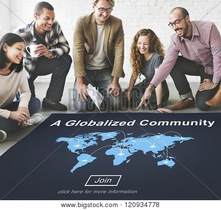 Globalized Community Diversity Citizen Belonging Concept