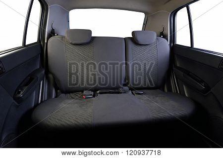 Gray Back Car Seats