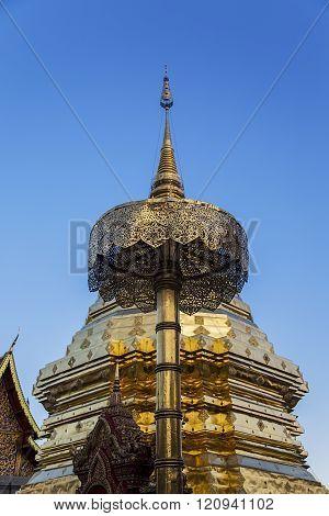 Wat Phra That Doi Suthep temple in Chiang Mai, Thailand