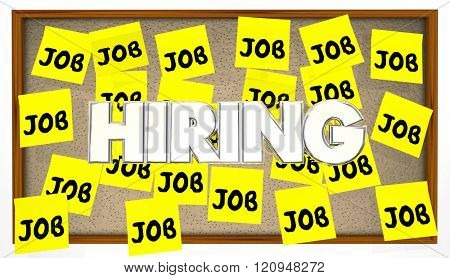 Hiring Jobs Posting Board Classified Help Wanted Find Work