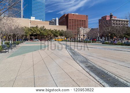 Pioneer Plaza In Dallas,  Texas