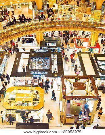 Famous Shopping Mall, Paris