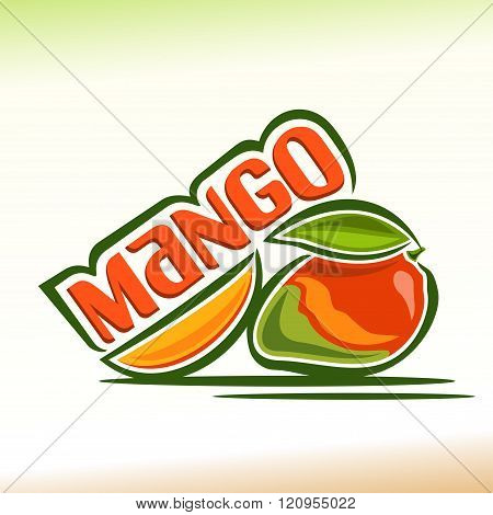 Vector illustration on the theme of mango