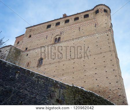 Serralunga d'Alba castle. Color image