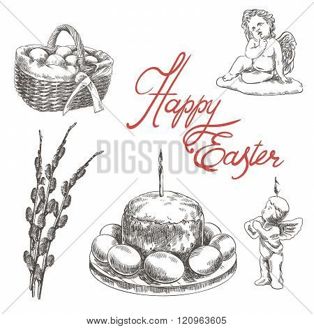 happy Easter sketches