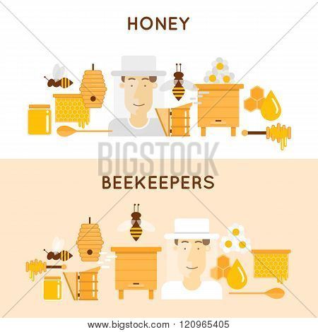 Honey and beekeeping.