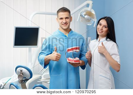 Stomatology and health care concept