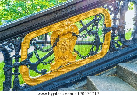 The Metal Handrails