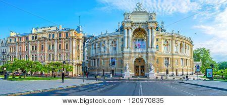 The Opera Square