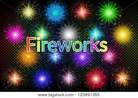 Holiday Fireworks Set