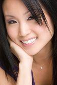image of asian woman  - Smiling Asian Girl - JPG