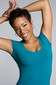 foto of young black woman  - Beautiful Black Woman - JPG