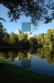 New John Hancock Tower, Public Garden, Boston Common, Boston, Ma
