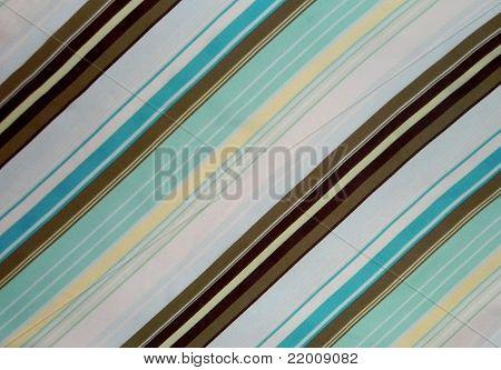 Aqua Brown Striped
