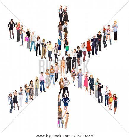 People Symbol Diversity