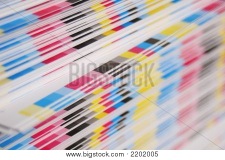 Cmyk Offset Printing Concept