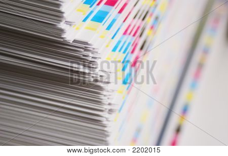 Cmyk Printing Sheet Color Bars
