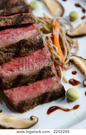 Gourmet Japanese Seared Beef
