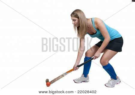 Woman Field Hockey
