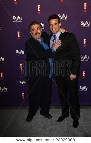 SAN DIEGO - JUL 23: Saul Rubinek; Eddie McClintock at the SyFy/E! Comic-Con Party at Hotel Solamar in San Diego, California on July 23, 2011.