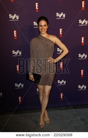 SAN DIEGO - JUL 23: Anna Silk at the SyFy/E! Comic-Con Party at Hotel Solamar in San Diego, California on July 23, 2011.