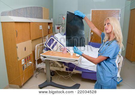 Female Radiologist