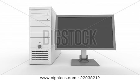 computers with blue display
