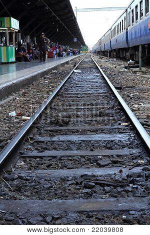 Train In Thailand.