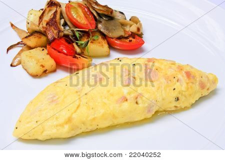 Whole Eggs Omelet
